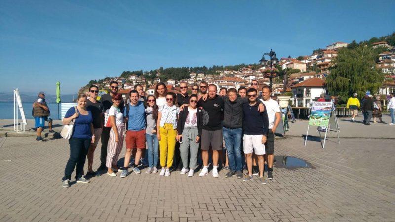 Ohrid 2018 CAPcargo Team event picture